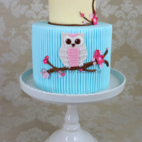 Owl Cake Birthday cake for my daughter - in keeping with her current owl obsession!