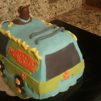 Back Scooby Cake1 *