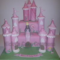 Childrens Birthday Cake A castle cake made for a fabulous 6 year old.