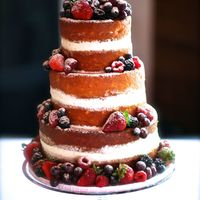 Naked Wedding Cake Naked wedding cake