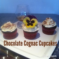 These Are Chocolate Cupcakes Infused With Hennessy Cognac These are chocolate cupcakes infused with Hennessy Cognac