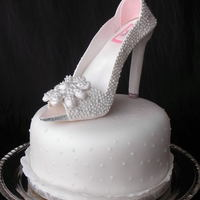 Diamond Shoe, Gumpaste, Bling