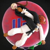 Ufc/bjj(Brazilian Jiujitsu Cake - Girl Power!