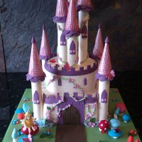 Fairytale Castle 100Edible Fairytale castle 100%edible