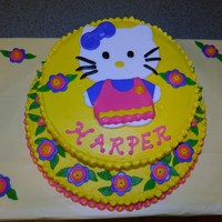 Hello Kitty Birthday Cake Hello Kitty Birthday Cake