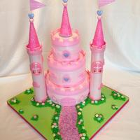 Princess Castle Cake Inspired But Another Members Post Princess castle cake! Inspired but another members post!!