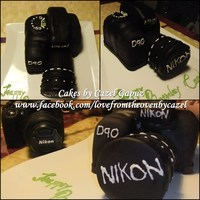 Technology Cakes   Camera cake. Will post a tutorial soon<3