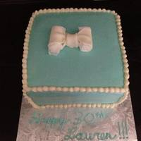 Lauren Birthday Tiffany Box *