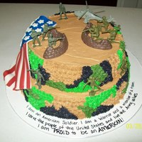I Made This Cake To Celebrate A Cousins Homecoming From Afghanistan I made this cake to celebrate a cousins homecoming from Afghanistan!