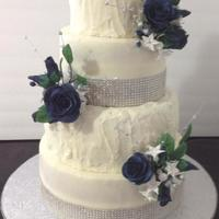 Buttercream Wedding Cake Buttercream wedding cake