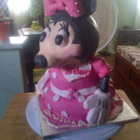This Is My First Attempt At Minnie Mouse For A 3 Year Old She Loved It This is my first attempt at minnie mouse for a 3 year old. She loved it