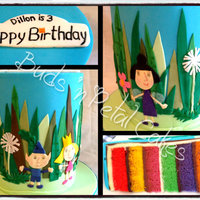 'ben & Holly' This cake was made for my nephew's 3rd birthday inspired by his favourite cartoon atm is Ben & Holly's Magic Kingdom. It sits...