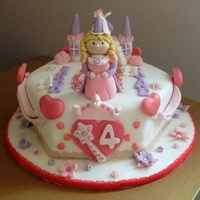 Princess Theme Cake Princess Theme Cake