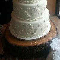 Vintagecountry Wedding Cake Vintage/Country wedding cake