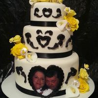 Yellow And Black Wedding yellow and black wedding