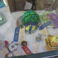 This Was 2 Of My Cakes And 3 Cupcakes I Made For Our County Fair 2012 The Peacock Cake Was My Fave I Sculpted The Head Of The Bird And S This was 2 of my cakes and 3 cupcakes I made for our County fair 2012. The peacock cake was my fave. I sculpted the head of the bird and...