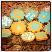 Flower Sugar Cookies To Welcome Spring Flower sugar cookies to welcome spring :)