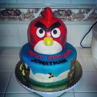 Angry Birds Angry birds birthday cake for a little boy that loves them!
