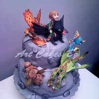 Cake 2 : How To Train Your Dragon ; Dragons: Riders Of Berk ; Dragons: Defenders Of Berk Cake 2 : How To Train Your Dragon ; Dragons: Riders of Berk ; Dragons: Defenders of Berk