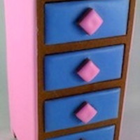 Edible Pinkblue Cookie Chest From Our New Line Of Chests That Were Launching This Summer The Drawers Are Completely Removable And Can Edible Pink/Blue Cookie Chest - from our new line of chests that we're launching this summer. The drawers are completely removable and...
