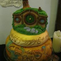 Lord Of The Rings Cake For A Lotr Themed Poker Tourney Lord of the Rings cake for a LOTR themed poker tourney!