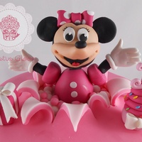 Minnie Mouse 1St Birthday Cake Minnie Mouse 1st birthday cake