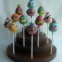 Moshi Monsters  Moshi Monster Cakepops Squiff, Pirate Pong, Ned, Fish Lips, Fabio, Bruiser, Bloopy https://www.facebook.com/welcometreats https://www/...