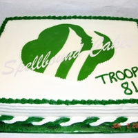 Girl Scouts Cake   Girl Scouts cake.