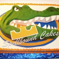 Florida Gators Football Cake Florida Gators Football cake.