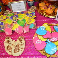 Mehndi Cookies And Cupcakes