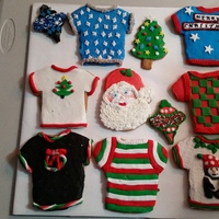 Some Of This Years Christmas Cookies Some I Used Royal Icing And Some I Used Fondant Some of this years Christmas cookies. Some I used royal icing and some I used fondant.