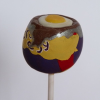 Cadburys Creme Egg Cake Pop Cadbury's Creme Egg cake pop