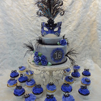 Masquerade Themed Cake I have always wanted to do a masquerade themed cake, and I recently got the opportunity to do so. The mask was a bit of a challenge at...