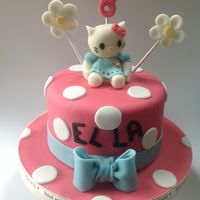 Hello Kitty Gluten Free Cake  This was a cake for my niece who is gluten, diary and egg intolerant. It was the first birthday cake she had had for 4 years. She was...