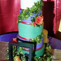 By Far My Favorite Cake I Have Ever Produced And It Was For Some Of My Best Friends It Is A 5 Tier Cake Inspired By Poison Ivy And The Ri By far my favorite cake I have ever produced, and it was for some of my best friends! It is a 5 tier cake inspired by Poison Ivy and The...