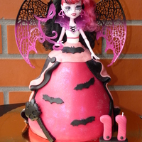 Cake Monster High Draculaura By Aventuras Coloridas