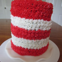 Cat In The Hat Smash Cake 4 Cat in the Hat smash cake; 4""