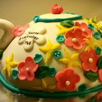 A Birthday Cake For A Tea Lover A birthday cake for a tea lover!