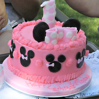 Buttercream Minnie Mouse   Buttercream Minnie Mouse