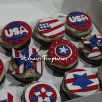 4Th July 4th July Cupcakes