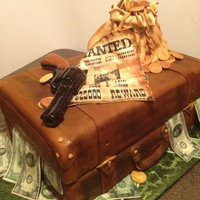 Bonnie And Clyde Wedding Cake Everything is edible ...