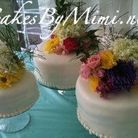Fresh Flowers Wedding Cakes *