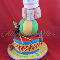 I Made This Cake For My Youngest Son Who Turned 2 It Was Only Meant To Be The Drum And Ball I made this cake for my youngest son who turned 2, it was only meant to be the drum and ball :)