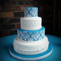 I Recently Did This Wedding Cake For The Son Of A Friend The Bride Didnt Want A Topper Or Anything Else But Id Have Liked A Large Peony I recently did this wedding cake for the son of a friend. The bride didn't want a topper or anything else, but I'd have liked a...