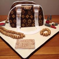 Cake I Made For My Friends 18Th *Louis Vuitton cake I made for a friends 18 :)
