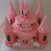 Princess Castle Cake *