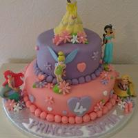 Disney Princess Cake *