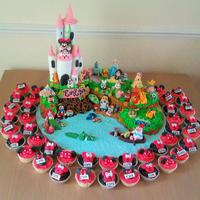 The Ultimate Disney Fan Cake- Over 20 Characters *