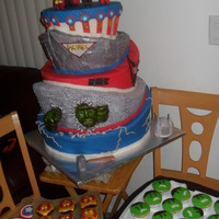 Avengers Fondant Creations By Letty Zepeda AVENGERS - FONDANT CREATIONS BY LETTY ZEPEDA