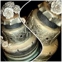 Signature Wedding Dream Cake Cake by Leiticia Rice at Ritzy Cakes*